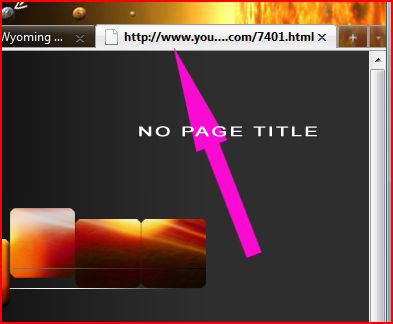 Poor website design - No page title, no favicon