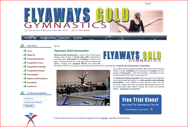 Flyaways Gold Gymnastics