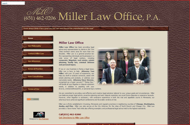 Miller Law Office, Wyoming, MN