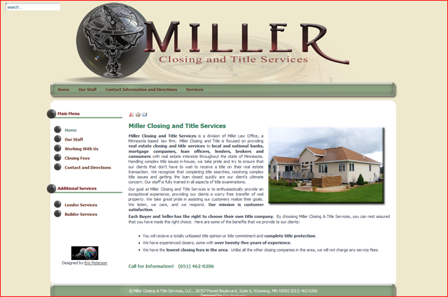 Miller Closing and Title Services